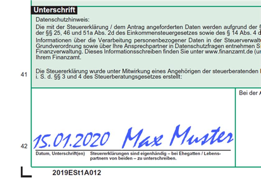 Steuerformulare Hessen